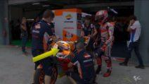 MotoGP, sulla Honda di Marquez spunta una nuova leva del freno