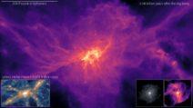 La simulazione cosmologica più avanzata di sempre mostra nascita ed evoluzione di una galassia