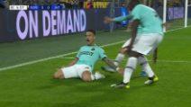Champions, Borussia Dortmund-Inter: i gol di Lautaro e Vecino