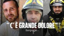 """Vigili del fuoco morti in esplosione ad Alessandria: """"Dolore in tutta Italia per i tre pompieri"""""""