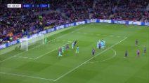 Champions, Barcellona-Slavia Praga 0-0: gli highlights