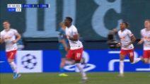 Champions, Zenit-Lipsia 0-2: gol e highlights
