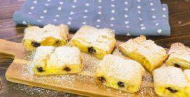 Rotolo di pasta fillo, crema e amarene: un dessert delizioso pronto in 30 minuti!