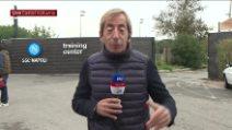 Napoli, i giocatori lasciano il ritiro di Castel Volturno