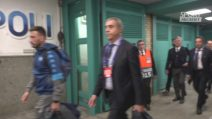 Champions League: Napoli, Ancelotti tace e poi lascia il San Paolo