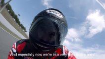 Marc Marquez prova la nuova CBR1000RR-R Fireblade SP