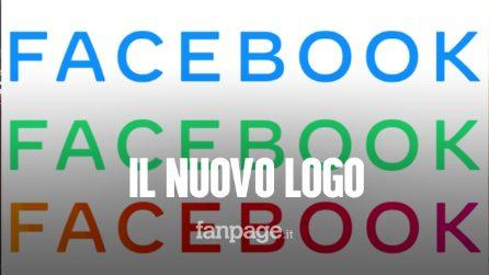 Facebook, Mark Zuckerberg annuncia sul suo profilo il nuovo logo dell'azienda