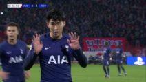 Champions, Stella Rossa-Tottenham 0-4: gol, highlights e le scuse di Son a Gomes