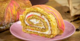 Pumpkin roll: an easy and beautiful fall dessert!