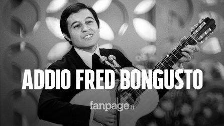 È morto Fred Bongusto, aveva 84 anni: scrisse il classico Una rotonda sul mare