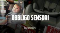 Seggiolini auto bambini e dispositivi antiabbandono: ecco quanto costano e come funzionano
