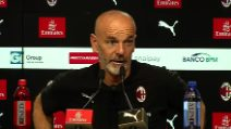 """Milan, Pioli: """"Giochiamo contro i più forti, ma si parte da 0-0"""""""