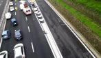 Tangenziale di Napoli, incidente stradale allo svincolo Camaldoli