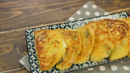 Potato calzone: you won't be able to stop at one!