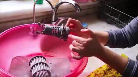 Come pulire il filtro della lavastoviglie in maniera efficace