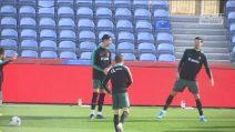 Cristiano Ronaldo in campo col Portogallo