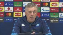 """Napoli a Liverpool, Ancelotti: """"Su Insigne solo illazioni. Mai pensato alle dimissioni"""""""