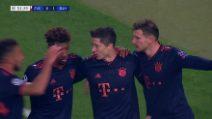 Champions, Stella Rossa-Bayern Monaco 0-6: gol e highlights