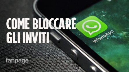 WhatsApp, adesso si possono bloccare gli inviti ai gruppi: ecco come fare
