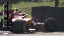 Formula1 - Leclerc-Vettel: il contatto e il ritiro delle due Ferrari