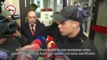 """CR7 sulla sostituzione col Milan: """"La capisco, non sto bene"""""""