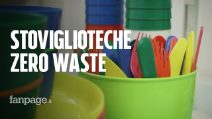 Zero waste mania, arrivano le stoviglioteche: piatti posate e bicchieri a noleggio