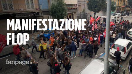 """Flop della manifestazione contro il lavoro nero: """"I lavoratori hanno paura di scendere in piazza"""""""