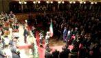 """Catania, vigile del fuoco urla a Mattarella: """"Non si dimentichi di quanti di noi soffrono"""""""