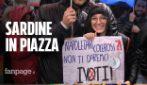 """Sardine in piazza a Sorrento contro Salvini: """"Basta alle politiche di odio e paura"""""""