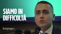 """M5S, Di Maio ammette: """"Siamo in difficoltà"""". E inciampa su quesito Rousseau per Regionali"""