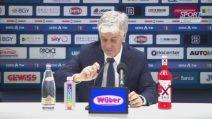 """Atalanta, Gasperini: """"Superiori alla Juve per 75' ma sui falli di mano ci sia chiarezza"""""""