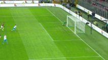 Milan-Napoli 1-1, il gol di Lozano