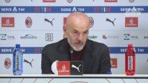 """Milan, Stefano Pioli: """"Bene oggi, ma la classifica preoccupa"""""""