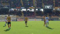 Goran Pandev: il gol alla Maradona che sblocca Lecce-Genoa