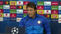 """Inter, Conte: """"Barça? Giocare queste sfide ci rende orgogliosi"""""""