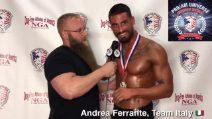 Il napoletano Andrea Ferrante è campione del mondo di bodybuilding