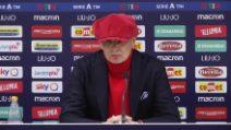 """Mihajlovic ringrazia la moglie Arianna e si commuove: """"Ti amo, amore"""""""