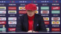 """Sinisa Mihajlovic sull'andamento del Bologna: """"Sono incazzato con i giocatori"""""""