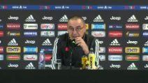 """Juventus, Sarri: """"Ronaldo si allena bene, ma gli manca brillantezza"""""""