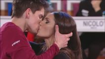 Amici 19, il bacio appassionato tra Javier e Elena D'Amario