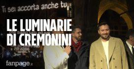 """Bologna, Cesare Cremonini accende le luminarie natalizie col testo di """"Nessuno vuole essere Robin"""""""