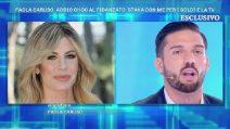 """Domenica Live, Paola Caruso interviene in diretta: """"Moreno Merlo sta mentendo"""""""