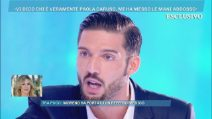 Domenica Live, Merlo racconta la sua verità sulla lite in auto con Paola Caruso: ecco il referto