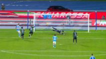 Serie A: Napoli-Bologna, il gol di Llorente