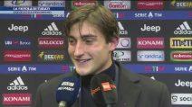 """Turati ferma la Juventus, il giovane portiere a fine partita: """"Sono tutto matto"""""""