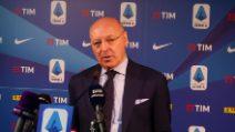 """CalciomercatoInter, Marotta: """"Clausola Lautaro? È riconoscente, non c'è bisogno"""""""