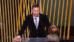 """Lionel Messi, sesto Pallone d'Oro: """"Mai smettere di sognare anche se il tempo vola"""""""