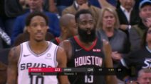 Basket, gli highligths di San Antonio-Houston 135-131 2OT