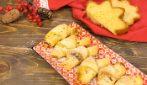 Cornetti di pandoro e sfoglia ripieni di crema: il dolcetto veloce e squisito!