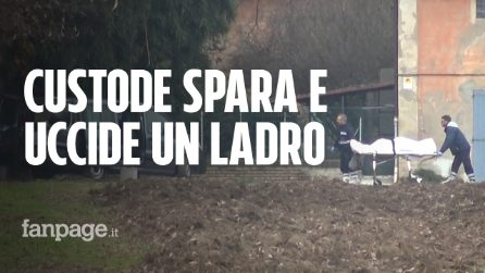 Bologna, custode vede i ladri e spara alcuni colpi di pistola dalla finestra: un morto